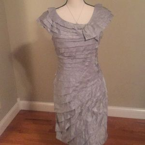 London times  8 mother of the bride dress silver